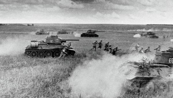 Кадры Великой отечественной войны. Архивное фото