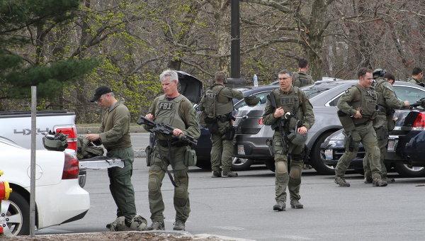 Спецоперация по розыску подозреваемого в Бостонских терактах. Архивное фото