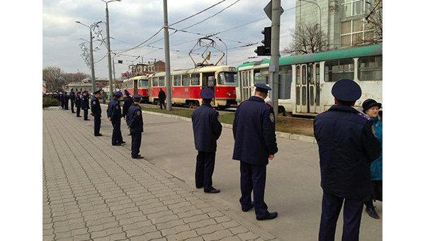 Милиция в Харькове. Архивное фото