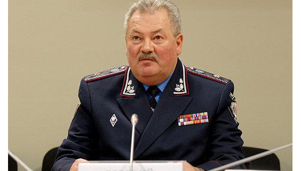 Начальник Департамента Госавтоинспекции МВД Украины Валерий Лозовой