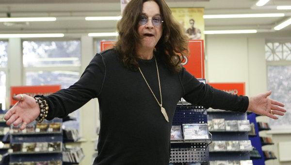 Британский рок-певец Оззи Осборн
