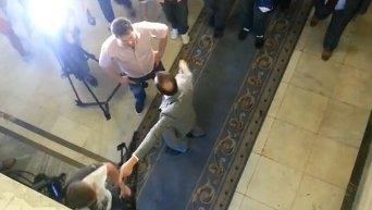 Ляшко выгнал российских журналистов из Рады