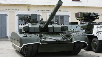 Танк Т-84У Оплот ВС Украины