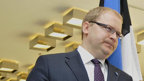 Министр иностранных дел Эстонии Урмас Паэт