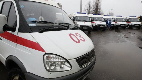 ВПодмосковье автобус слюдьми столкнулся с«КамАЗом»