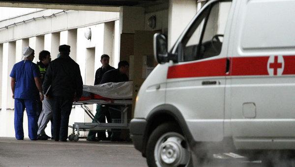Пострадавший  доставлен в больницу