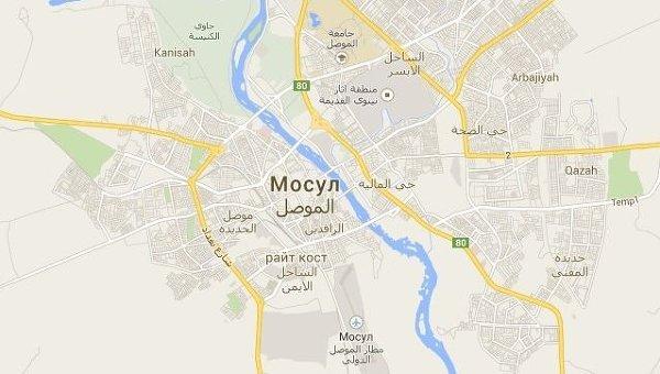 Город Мосул на севере Ирака