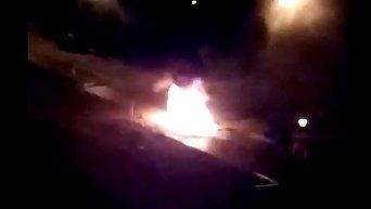 Взрыв микроавтобуса Пушилина