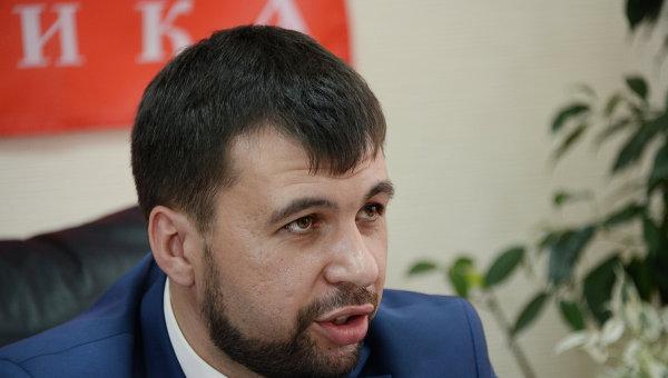 Глава правительства ДНР Денис Пушилин