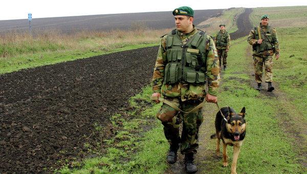 Пограничники на участке украинской границы
