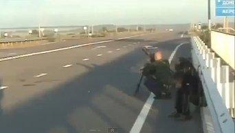 Ополченцы из миномета обстреливают аэропорт Луганска