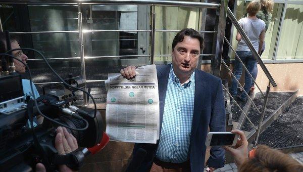 Обыски в газете Вести