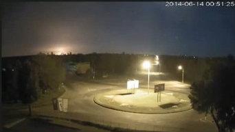 Cбит военный самолет Ил-76 под Луганском