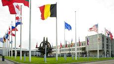 Здание штаб-квартиры НАТО в Брюсселе, архивное фото