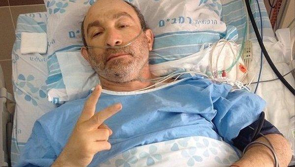 Кернес в израильской клинике
