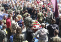 Похороны активиста Майдана