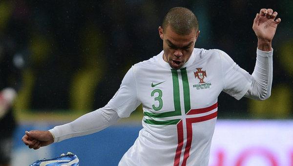 Игрок сборной Португалии Пепе