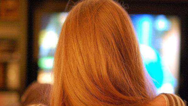 Телевизор, архивное фото