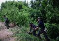 Ополченцы в Луганске