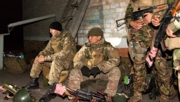 Военнослужащие отряда спецназначения ВС Украины