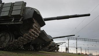 Танки войск  обороны Украины. Архивное фото