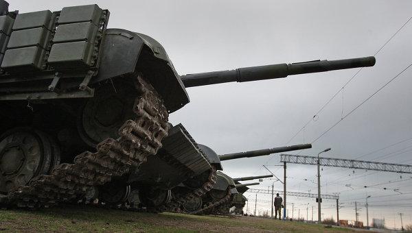 Спецоперация в Украине. Архивное фото
