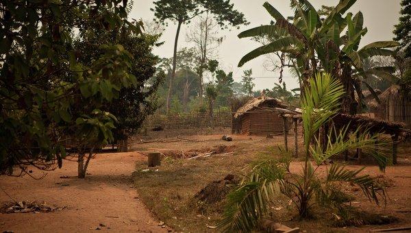 Деревня в Конго. Архивное фото