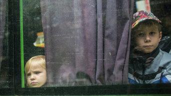 Дети с востока Украины. Архивное фото