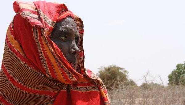 Жительница округа Ваджир в Кении. Архивное фото