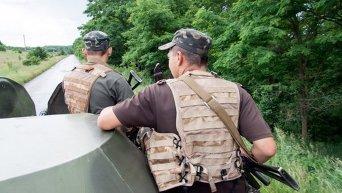 Военные патрулируют границу в Харьковской области
