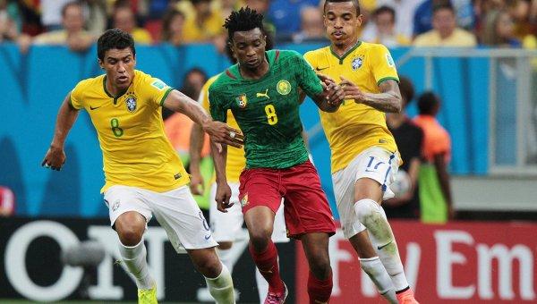 Футбол. ЧМ-2014. Матч Камерун - Бразилия