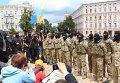 Присяга бойцов батальона Азов