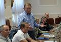 Заседание Трехсторонней контактной группы с участием Л.Кучмы, М.Зурабова и Х.Тальявини, Архивное фото