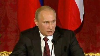 Путин о решении отозвать согласие СФ на использование ВС РФ в Украине