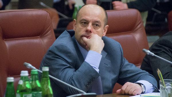 Глава Минэнерго Украины Юрий Продан
