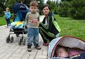 Отправка беженцев с детьми из Славянска в Россию