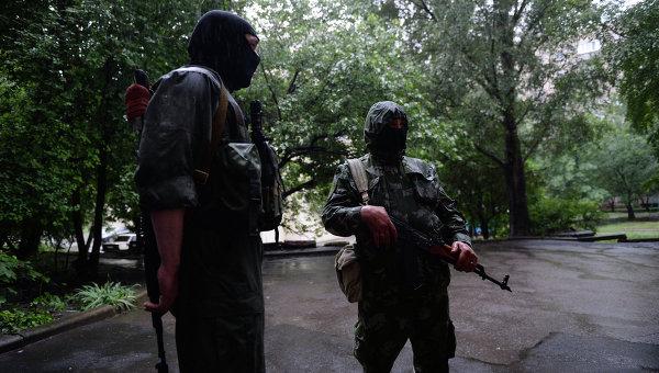 Ситуация у воинской части № 3004 в Донецке