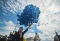 Флешмоб на Майдане Незалежности