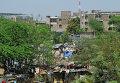 В одном из районов города Нью-Дели
