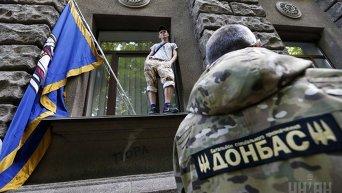 Бойцы батальона Донбасс требуют восстановления спецоперации на Востоке