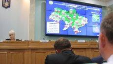 Работа ЦИК Украины