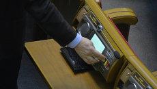 Депутат в Раде. Архивное фото
