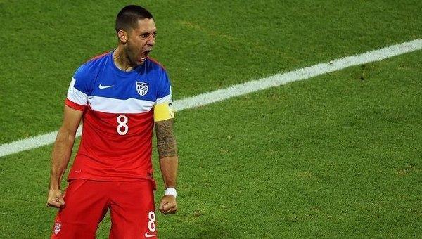 Футболист сборной США Клинт Демпси