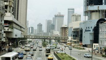 В центре Сингапура. Архивное фото