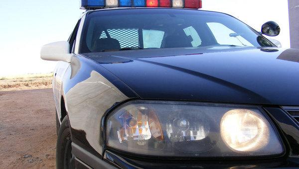 Полицейский автомобиль в США. Архивное фото