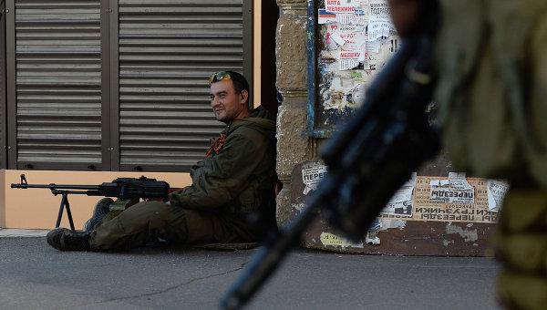 Ситуация у Донецке. Архивное фото
