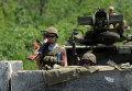 Украинские военные на востоке Украины