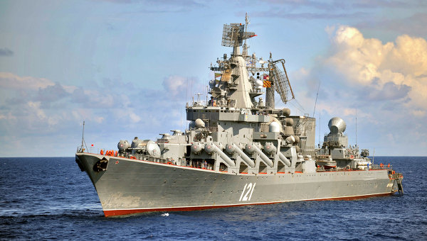 Учения Черноморского флота РФ. Архивное фото