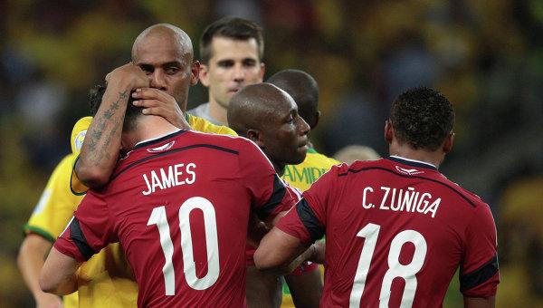 Матч Бразилия - Колумбия