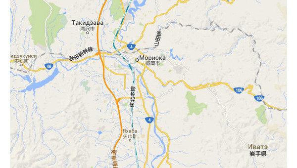Япония. Префектура Иватэ